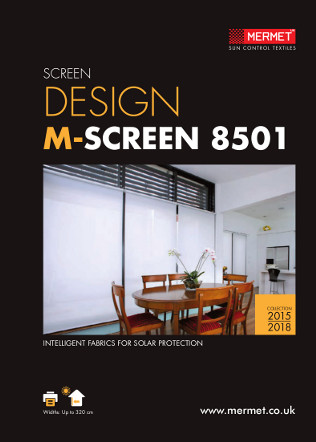 SCREEN DESIGN M-SCREEN 8501 Brochure