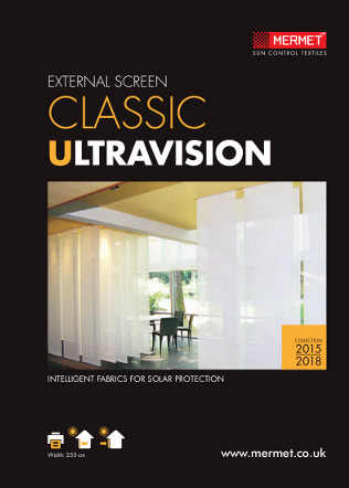 EXTERNAL SCREEN CLASSIC ULTRAVISION Brochure