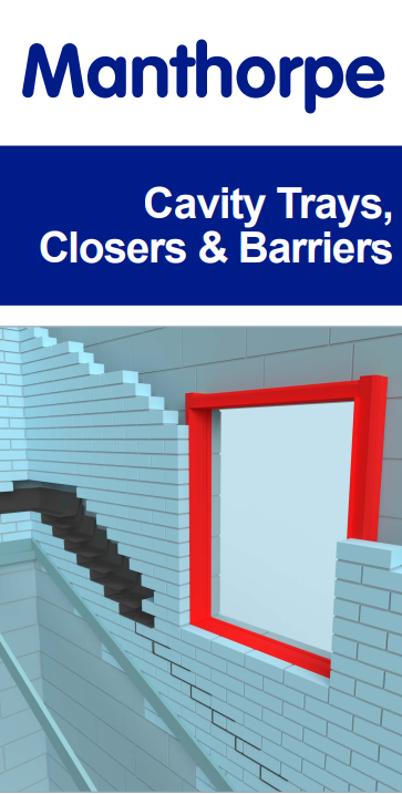 Manthorpe Cavity Trays, Closers & Barriers Brochure