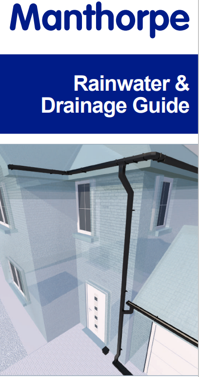 Manthorpe Rainwater & Drainage Guide Brochure