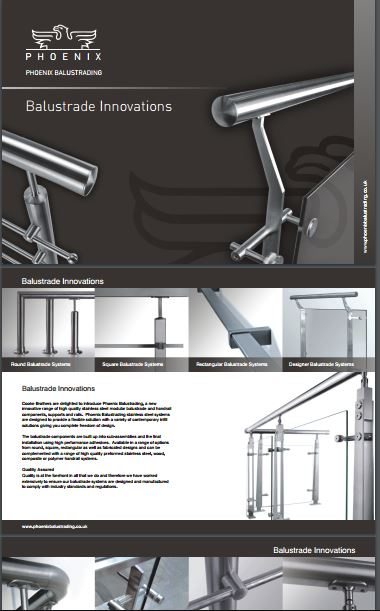 Balustrade Innovations Brochure