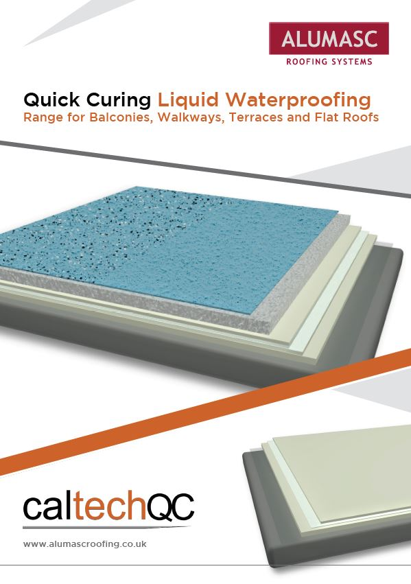 Caltech QC (Quick Cure) Liquid Waterproofing Brochure Brochure