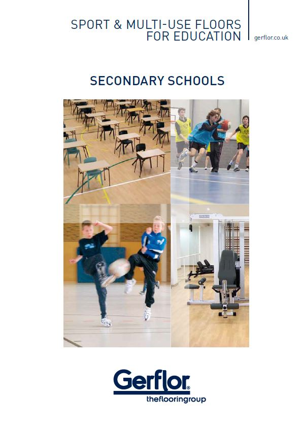 Secondary Schools - Sport & Multi-use Floors For Education Brochure