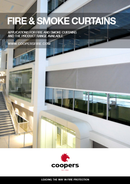 Fire and smoke curtains Brochure
