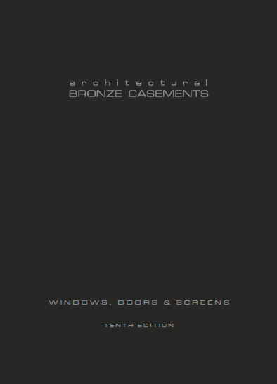 Bronze Windows, Doors and Screens Brochure
