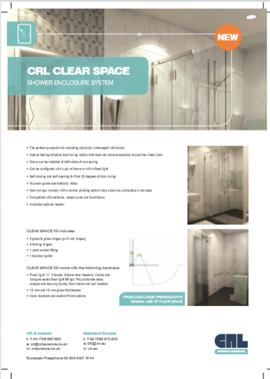 CRL CLEAR SPACE  Brochure