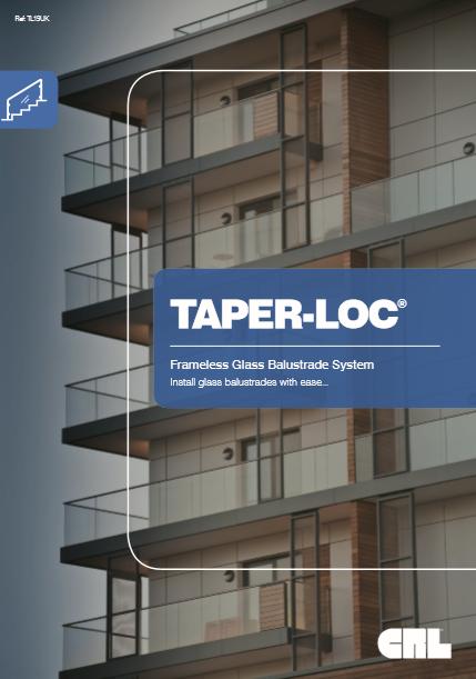 TAPER-LOC® Frameless Glass Balustrade Syste Brochure