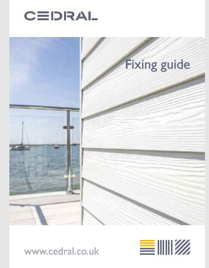 Cedral Fixing Guide by Etex Brochure