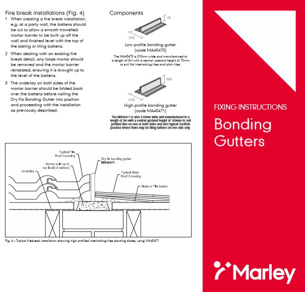 Bonding Gutters Brochure