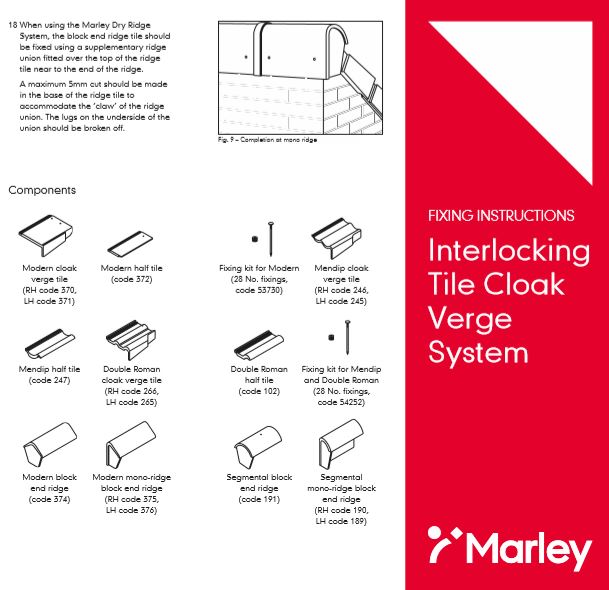 Interlocking Tile Cloak Verge  System Brochure