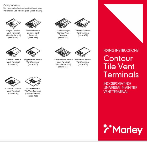 Contour Tile Vent Terminals Brochure