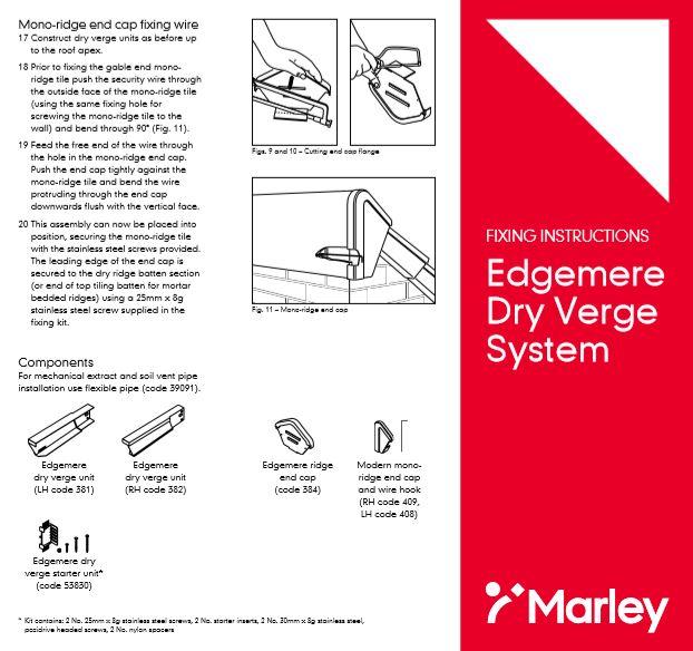 Edgemere Dry Verge System Brochure