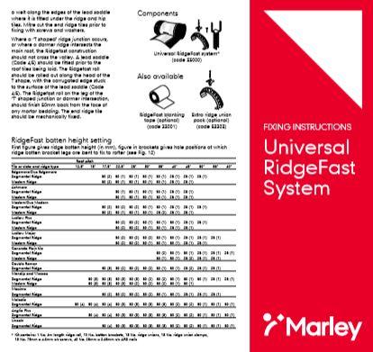 Universal RidgeFast System Brochure