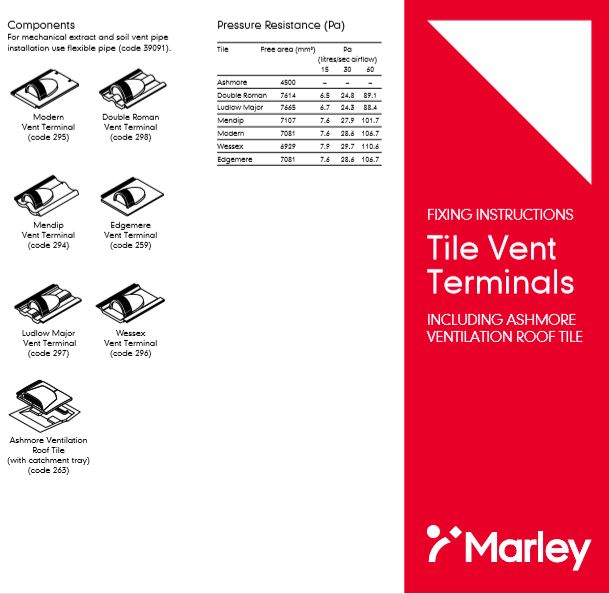 Tile Vent Terminals  Brochure