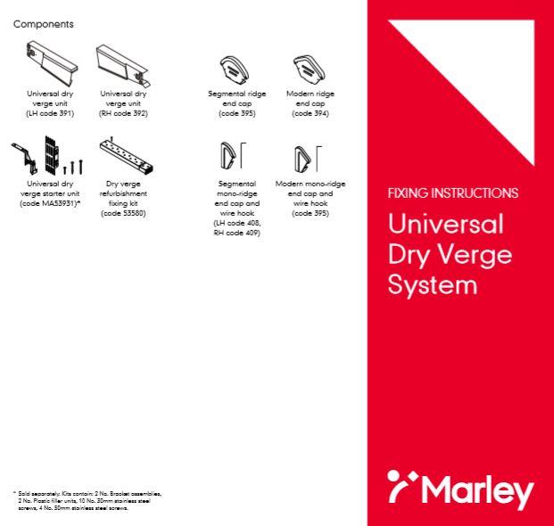 Universal Dry Verge  System Brochure