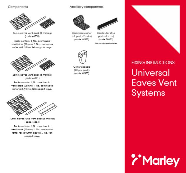 Universal Eaves Vent  Systems Brochure