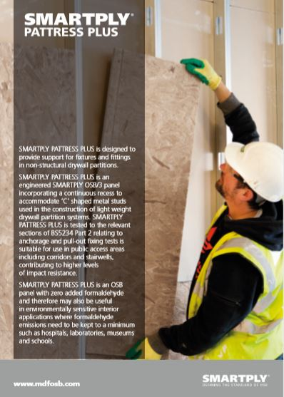 SMARTPLY PATTRESS PLUS Brochure