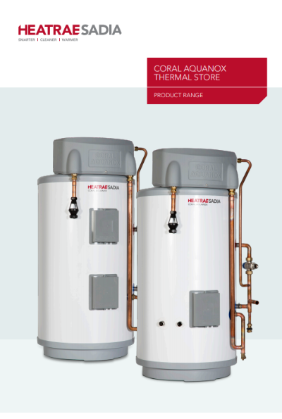 CORAL AQUANOX THERMAL STORE Brochure
