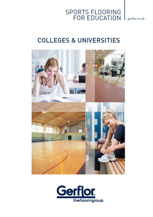 Colleges & Universities - Sports Flooring For Education Brochure