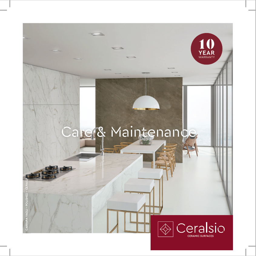Ceralsio Care & Maintenance Brochure