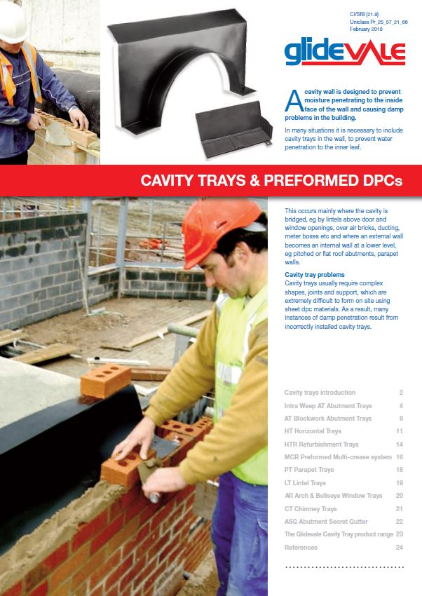 Cavity trays  Brochure