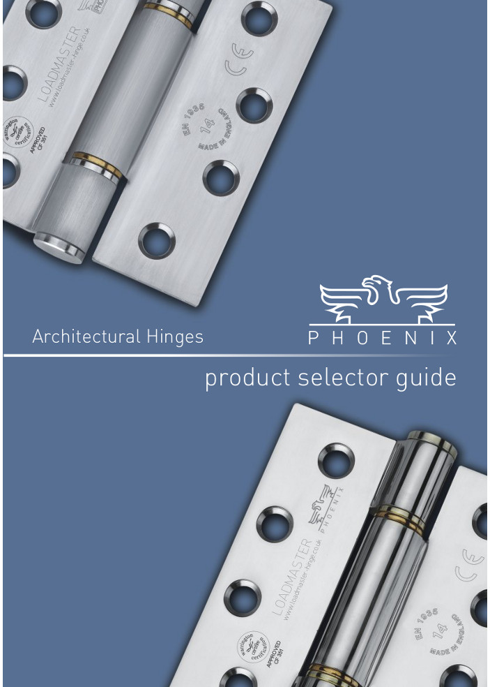 Cooke Brothers - Product Selector Guide  Brochure