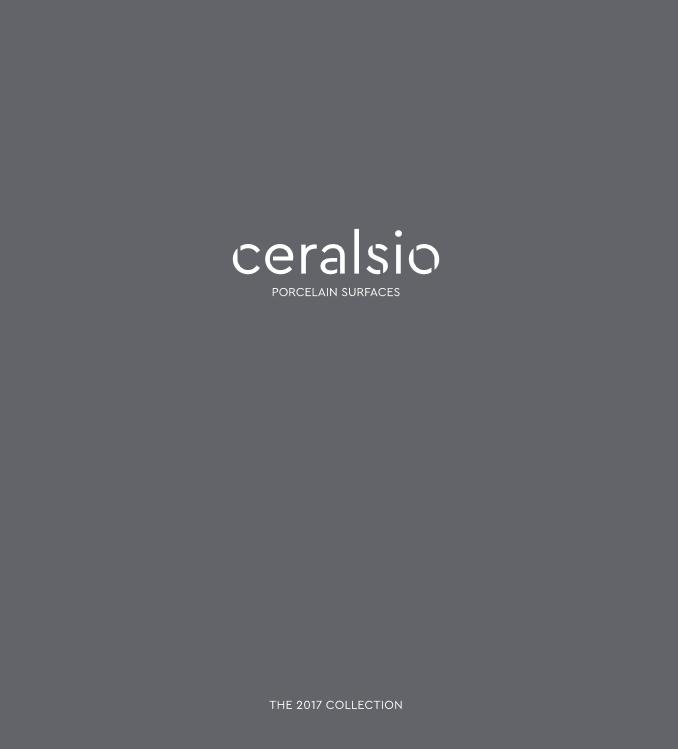 Ceralsio Brochure 2017 Brochure