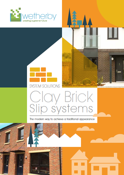Clay brick slip system Brochure