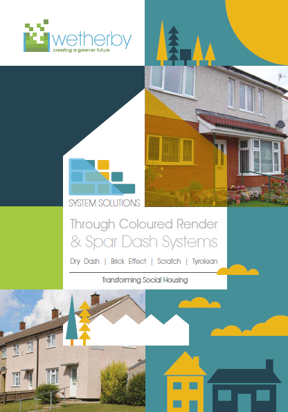 Through coloured render & spar dash systems Brochure
