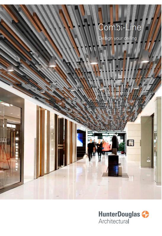 Combi-Line Ceiling Brochure