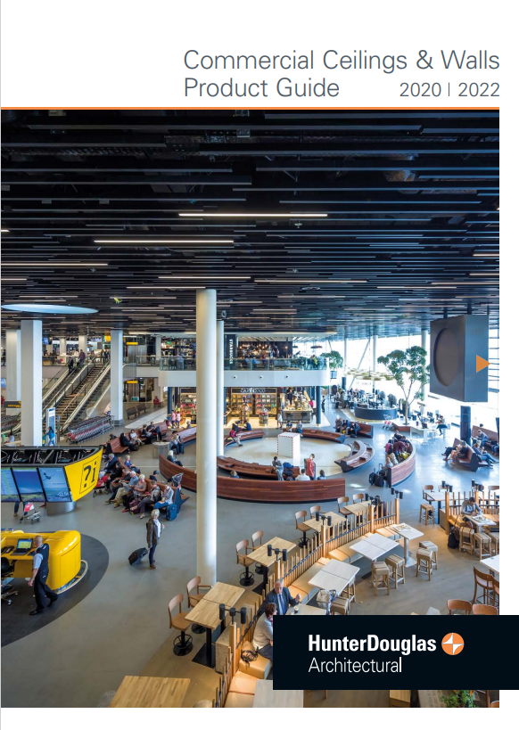 Commercial Ceilings & Walls Product Guide 2020| 2022 Brochure