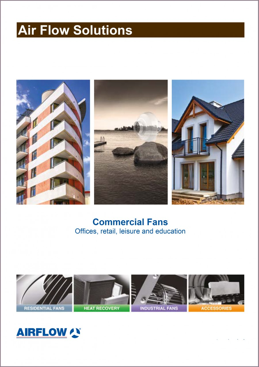 Commercial Fan Brochure Brochure