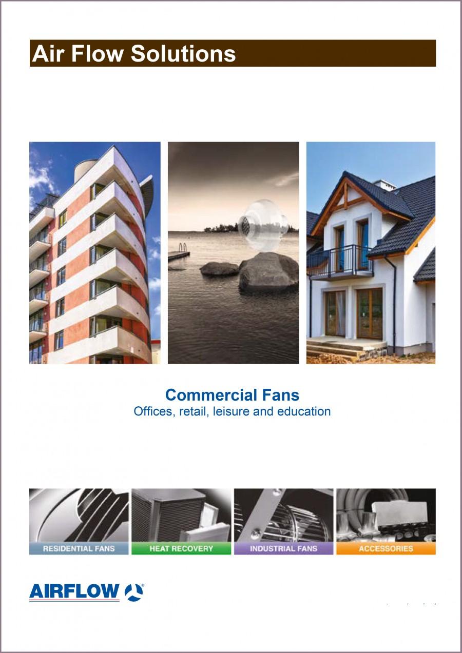Commercial Fan Brochure Brochure
