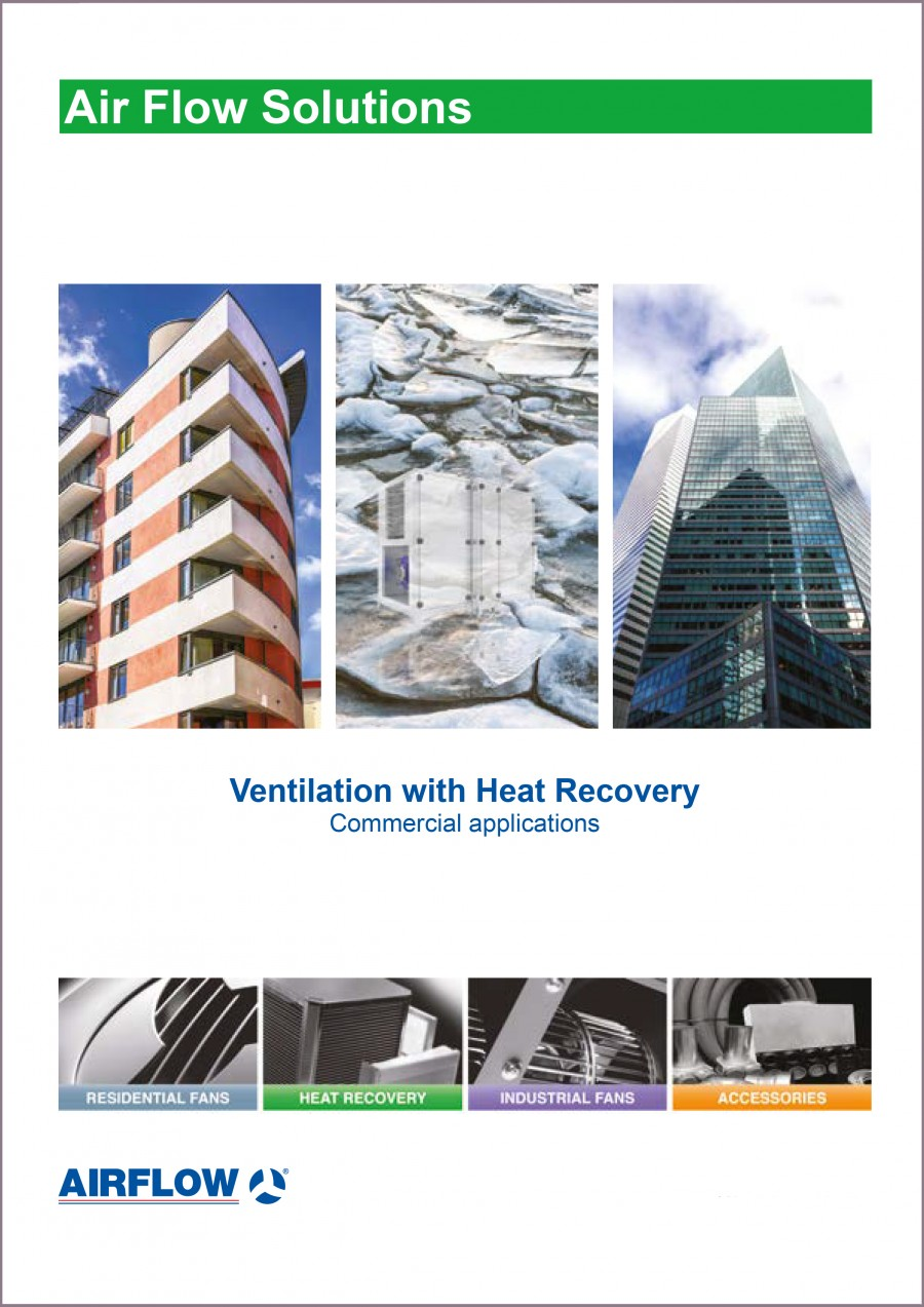 Commercial Ventilation with Heat Recovery  Brochure
