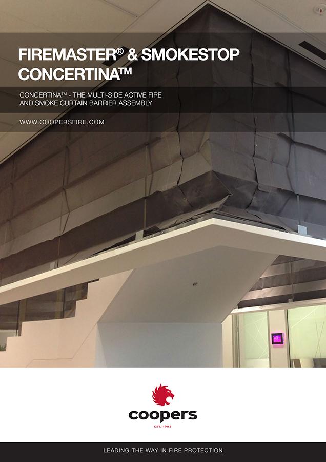Firemaster & Smokestop concertina Brochure