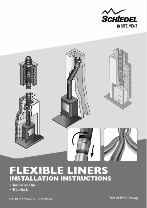 Flexible Liners Installation Instructions Brochure