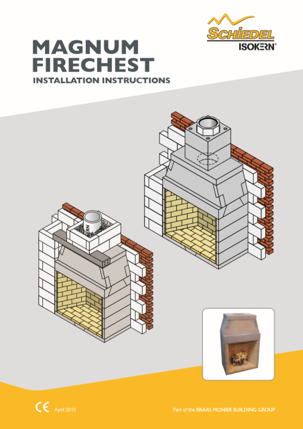 Magnum Firechest Installation Instructions Brochure