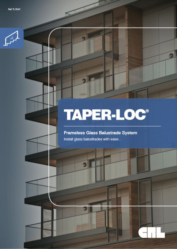 Taper-loc - Frameless Glass Balustrade System Brochure