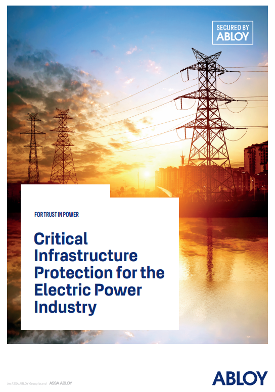 Critical  Infrastructure  Protection for the  Electric Power  Industry Brochure