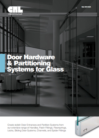 Door Hardware & Partitioning Systems for Glass Brochure
