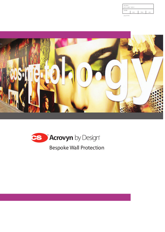 CS Acrovyn by Design Brochure
