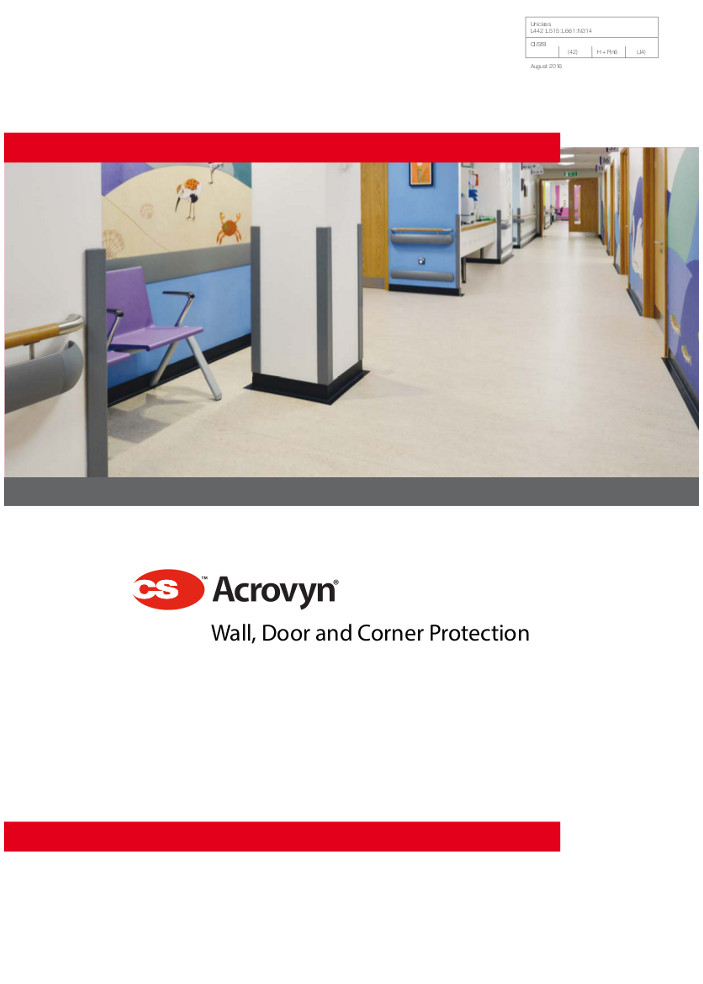 CS Acrovyn Wall protection Brochure