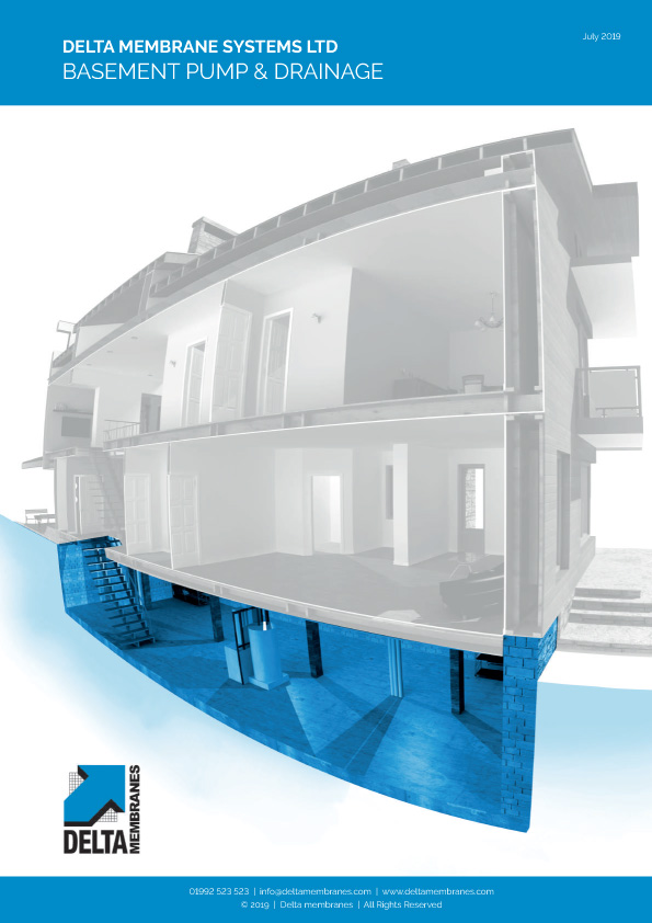 Basement Pump & Drainage Brochure Brochure
