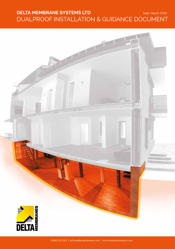 Delta DualProof Guidance and Installation Brochure Brochure