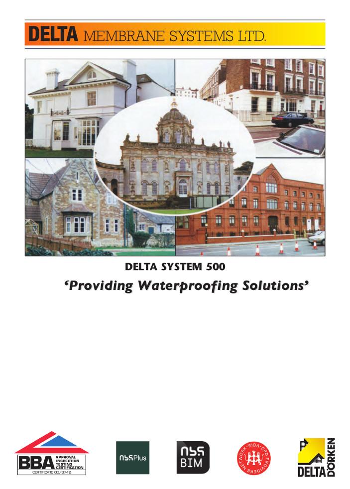 DELTA SYSTEM 500 Brochure