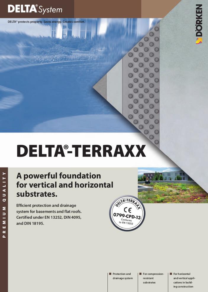 DELTA® Terraxx — Green roofs Brochure