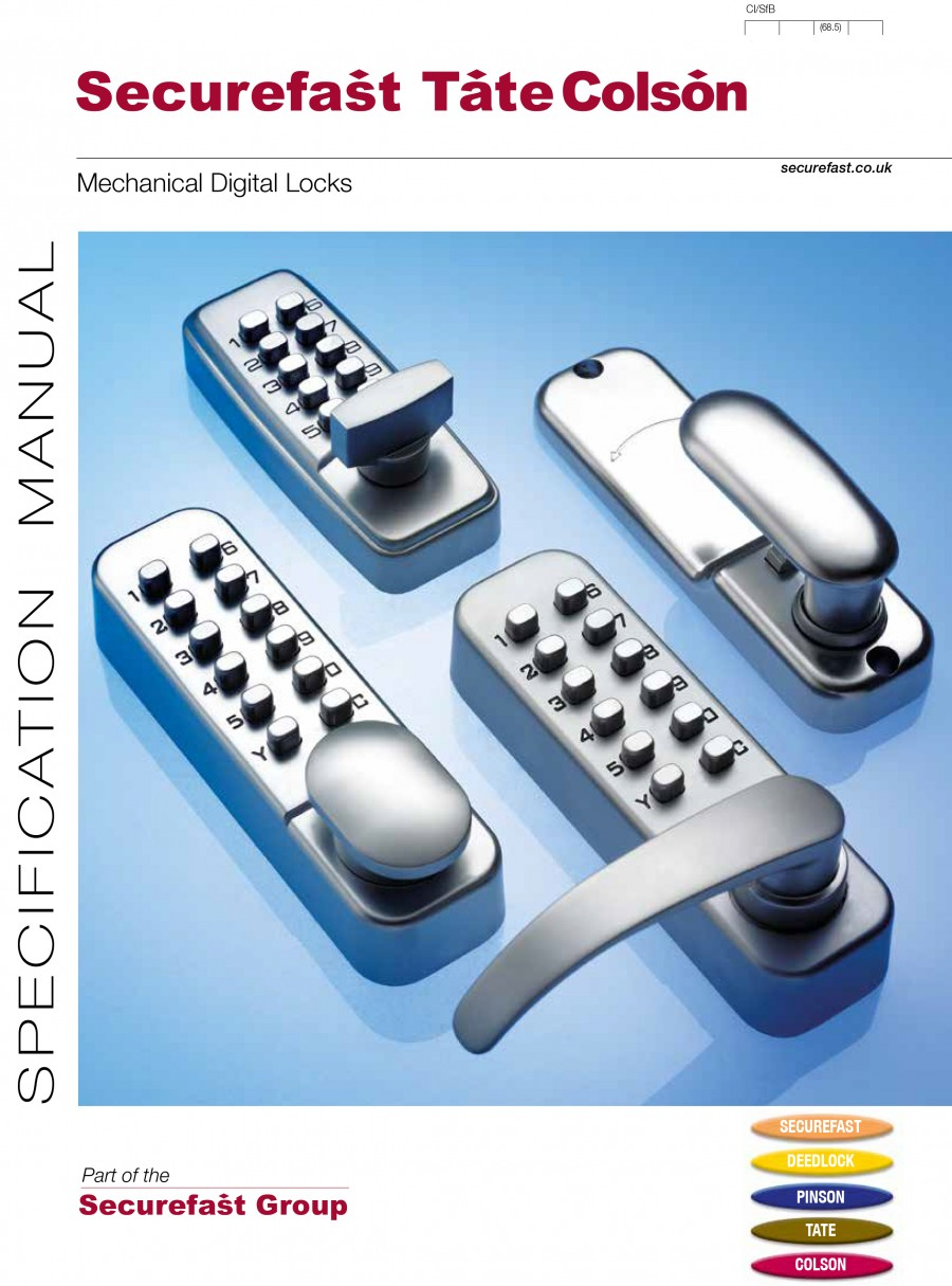 Digital Locks Brochure