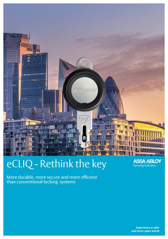 eCLIQ - Rethink the key Brochure