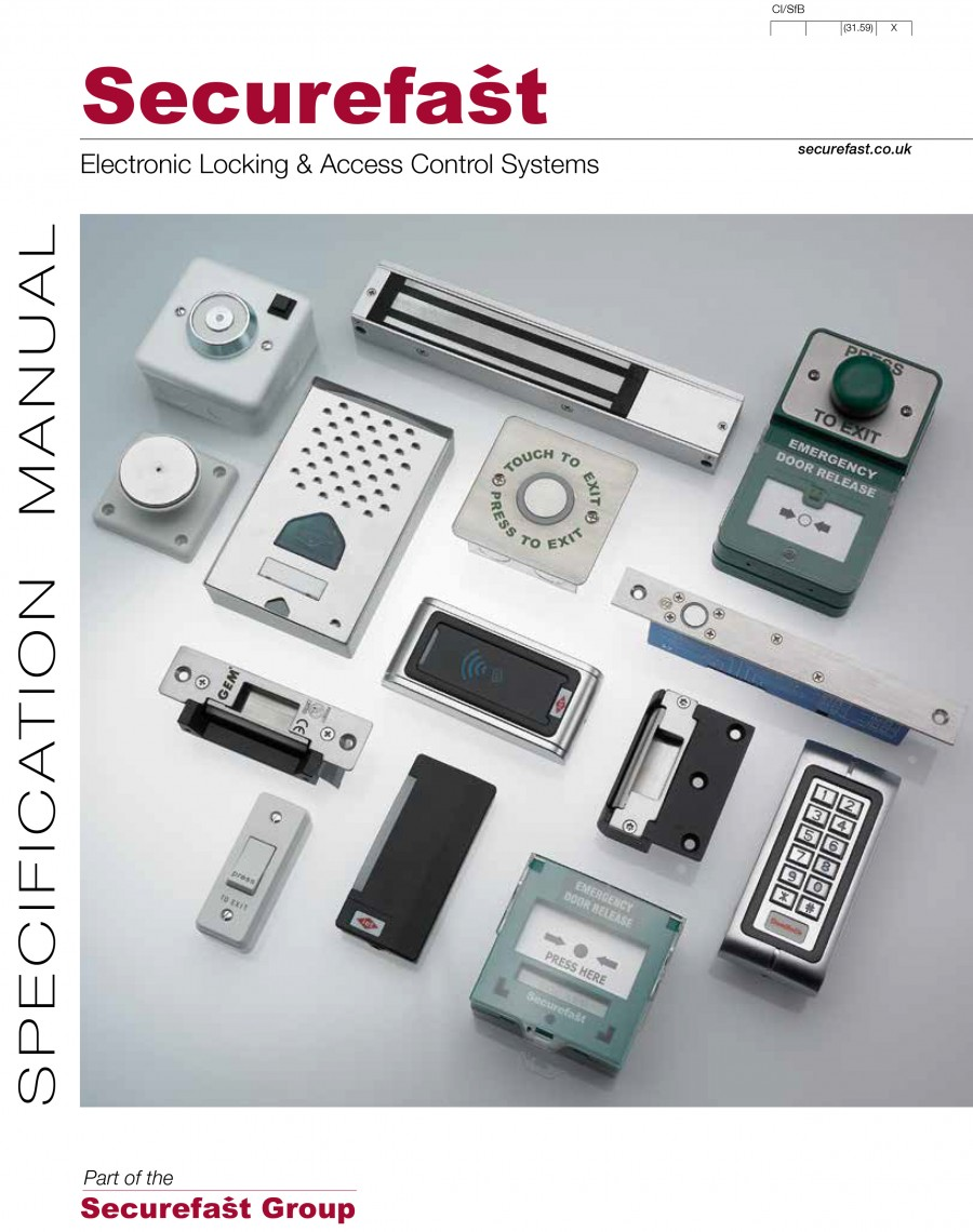 Electronic Locking & Access Control Systems Brochure