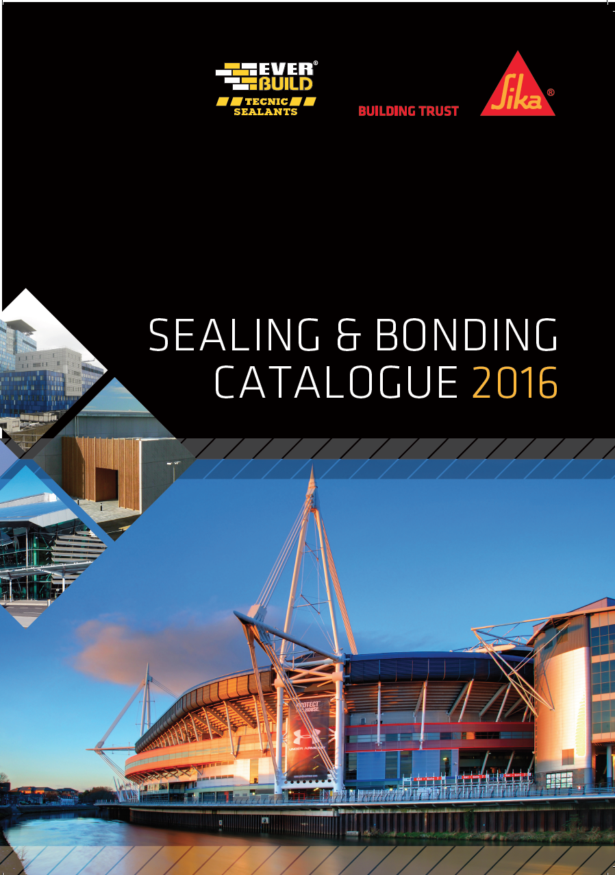 Sealing and Bonding Catalogue 2016 Brochure